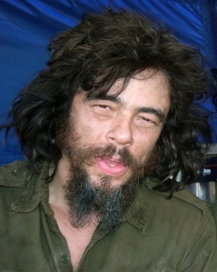 "enecio Del Toro as Ernesto ""Che"" Guevara in the comedic romp, Che, Part Two."